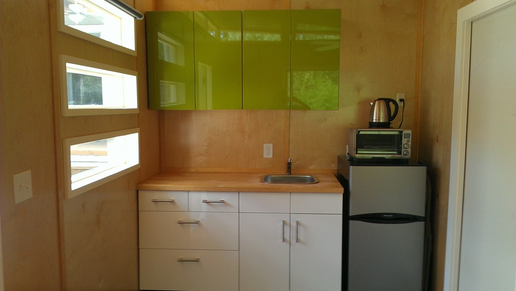 *kitchenette triple windows